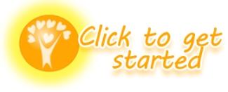 logo sun shine get started